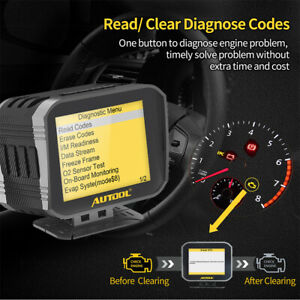 2in1 Auto Obd2 Hud Head Up Dispaly Speedometer code Reader Diagnostic Scan Tool