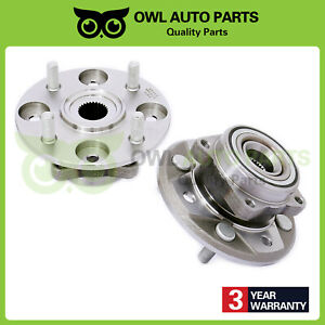 For 1990 1997 Honda Accord 4cyl 2 2l Set Front Wheel Bearing Hub Assembly 513098