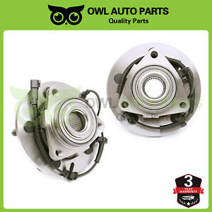 2 Front Wheel Bearing Hub For 2006 2007 2008 Dodge Ram 1500 W Abs 2wd 4wd 515113