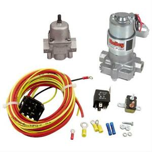Summit Racing Holley 12 815 1 Black Electric Fuel Pump 30 Amp Relay Kit Combo