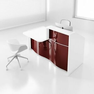 Wave 62 Reception Desk With Counter Top
