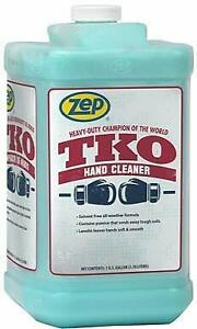 Zep Heavy duty Tko Hand Cleaner 1 Bottle The Hand Cleaner Trusted By Mechanics