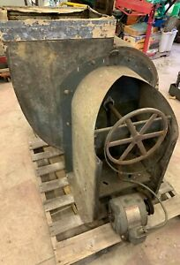 American Standard 222 Industrial Exhaust Blower Utility 1 Hp Phs 3 Ge Induction
