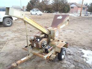 Lil Chip rrr Wood Chipper 18 Hp Twin Towable 4 Inch