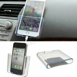 Universal Car Auto Accessories Organizer Storage Bag Box Transparent Holder New