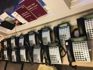 Nec Electra Elite 48 Analog Phone System With Voicemail And 13 Handsets