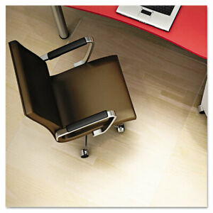 Deflecto Polycarbonate All Day Use Chair Mat Hard Floors 46 X 60 Rectangle