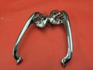 Nos 1950 1951 Ford Left And Right Outside Door Handles Pair B 4 6