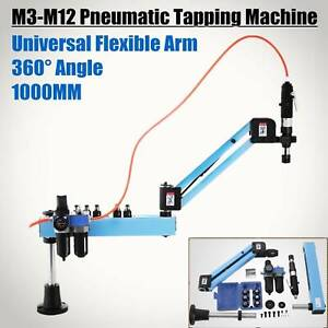 Flexible Arm Pneumatic Air Tapping Machine Multi direction Tapping M3 m12 Iso