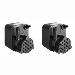 Little Giant Pe 1 1 125 Hp Small Submersible Encapsulated Water Pump 2 Pack
