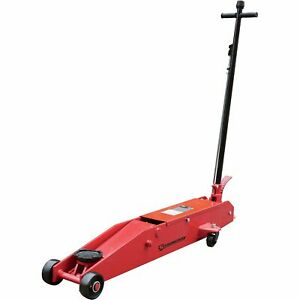 Strongway Hydraulic Long Frame Service Jack 5 Ton Cap 5 15 16in 22in Lift Range