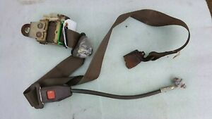Toyota Land Cruiser Fj60 Front Right Seat Belt And Reciever Brown Oem