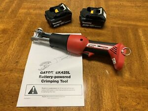 Greenlee Ek425lb Bare Tool With Two Batteries