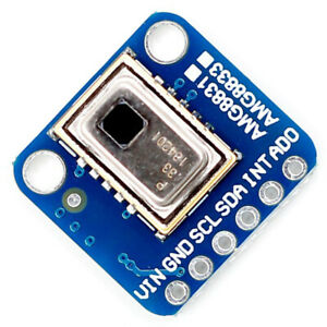 For Arduino R3 8x8 Infrared Thermograph Amg8833 Ir Thermal Camera Breakout New