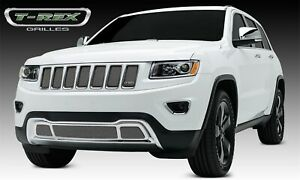 For 2014 2015 Jeep Grand Cherokee Chrome Stainless Steel Grille Insert