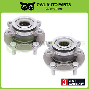2 Front Wheel Bearing Hub W Abs For 08 13 Nissan Rogue 14 15 Rogue Select 5 Lug