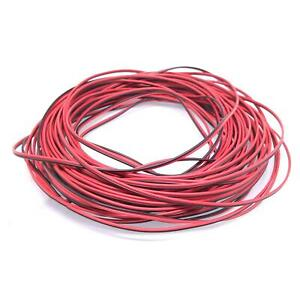 26awg Ul 2468 Pvc Flat Ribbon Wire Stranded Cables Red Black 20meter