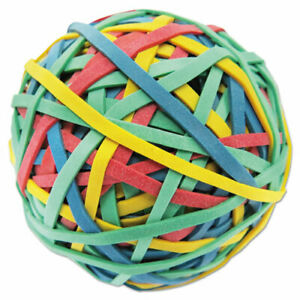 Universal Rubber Band Ball 3 Diameter Size 32 Assorted Colors 260 pack