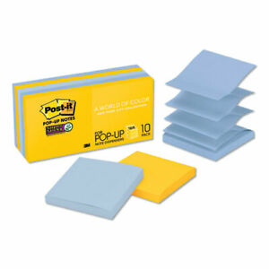 Pop up 3 X 3 Note Refill New York 90 Notes pad 10 Pads pack