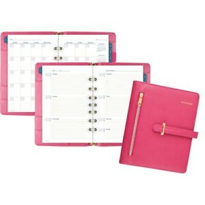 At a glance Buckle Closure Undated Desk Start Set Yes Weekly Monthly 8 00