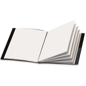 By Tops Products Custom Show Presentation Book 8 5x11 6 Pockets Black
