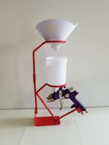 Spray Gun Stand Auto Paint Basecoat Clearcoat Restoration Car Paint Supplies