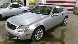97 00 Mercedes Slk230 Supercharged Engine motor 94k Video Tested