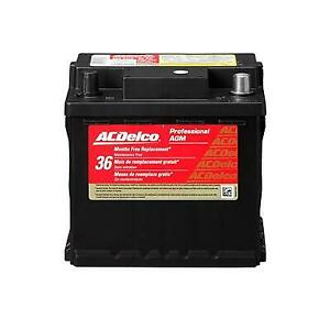 Acdelco Ln1agm Battery Professional Automotive Agm Starting 12 V 670 Cranking