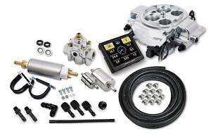 Holley Sniper 550 867k Fuel Injection System Sniper Efi Quadrajet Master Kit