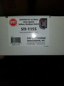 Stopper Ii Protective Covers For Pull Stations Clear Cover Sti Model sti 1155