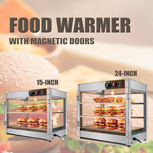 Commercial Food Warmer Pizza Warmer Pastry Warmer With Magnetic Doors