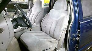 96 00 Chevy Truck Gmt400 Front Cloth Bucket Seat Set left right Grey 13l