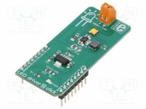 Mikroe 2807 Click Board Led Pwm Mcp1643 Mikrobus Connector Screw
