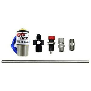 Nx Nitrous Purge Valve System With 6an Manifold Push Button And Vent Tube