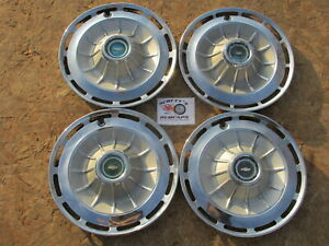 1962 Chevy Impala 14 Wheel Covers Hubcaps Set Of 4