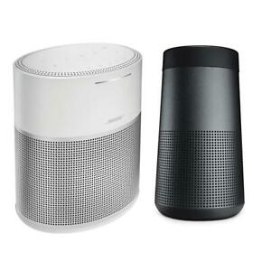 Bose Home Speaker 300Silver WBose SoundLink Revolve Bluetooth Speaker Tr Black