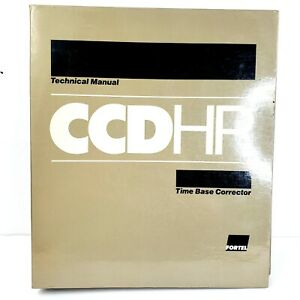 Fortel Ccdhp Time Base Corrector Technical Manual