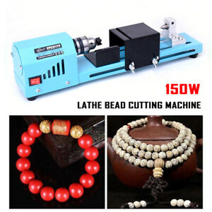 Adjustable Speed Electric Diy Beads Mini Lathe Grinding Polisher Wood Drill Mill