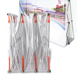 8ft Trade Show Display Backdrop Stand Frame Tension Fabric Exhibition Booth Top
