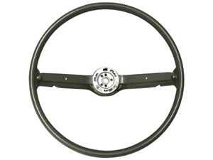 1968 69 Ford Mustang Steering Wheel Standard Ivy Gold