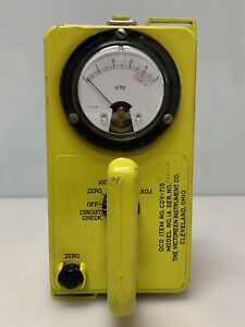Victoreen Ocd Cdv 715 Radiation Detector Survey Meter Model 1a Ok Civil Defense