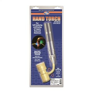 Uniweld Hand Torch Double Twister With 360 Swivel Tip