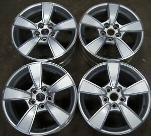 Pontiac G8 18 Silver And Machined Factory Oem Wheels Rims 08 09 6639 1944