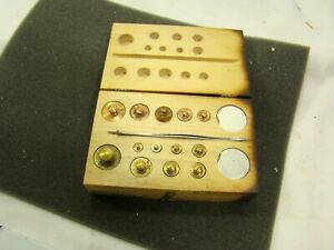 1960 S Clay Adams Apothecary Gram Scale Weight Set