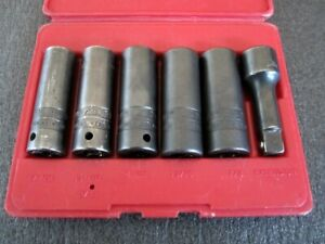 Mac Tools 6pc Impact Thin Wall Lug Nut Socket Set Scdpt6 Usa