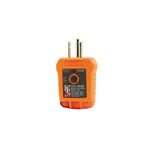 Klein Tools Rt210 Outlet Tester Receptacle Tester For Gfci Standard North