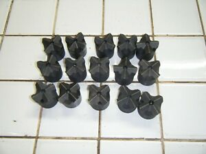 15 Lot Cross All Steel Rock Concrete Drilling Drill Bits H Thread 1 5 8 Timken