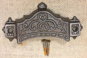 Old Bin Drawer Pull Handle 4 5 8 Vintage 1871 Patent Parker Whipple Well Made