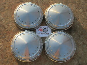 1968 1969 Plymouth Gtx Road Runner Fury poverty Dog Dish Hubcaps Set Of 4