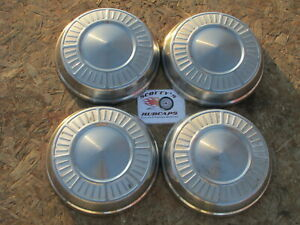 1965 1966 Plymouth Fury Sport Fury poverty Dog Dish Hubcaps Set Of 4 gray